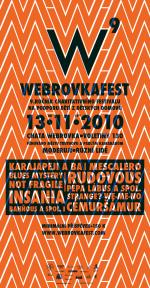 Plakát Webrovkafest 2010
