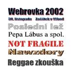 Plakát Webrovkafest 2002