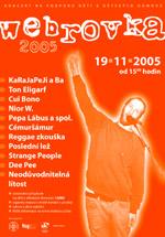 Plakát Webrovkafest 2005