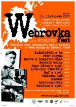 Plakát Webrovkafest 2007