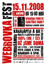 Plakát Webrovkafest 2008