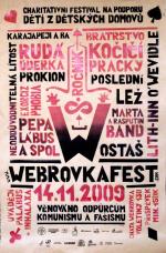 Plakát Webrovkafest 2009