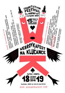 Plakát Webrovkafest na Klučance 2016