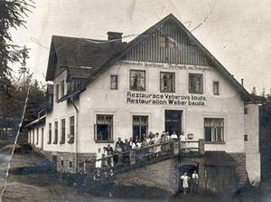 Chata Vébrovka u Trutnova