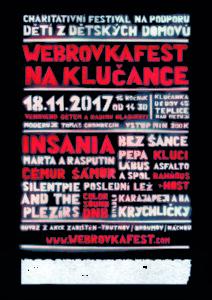 Plakát Webrovkafest 2017