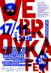Plakát WebrovkaFest 2018